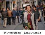 istanbul  turkey   november 6... | Shutterstock . vector #1268092585