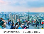 bangkok  thailand   december 23 ... | Shutterstock . vector #1268131012