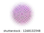light purple vector template in ... | Shutterstock .eps vector #1268132548