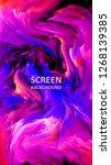 modern design.abstract marble... | Shutterstock .eps vector #1268139385