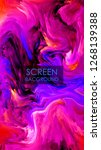 modern design.abstract marble... | Shutterstock .eps vector #1268139388