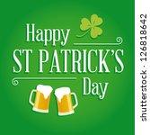 Happy St Patricks Day Card Wit...