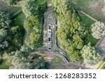 aerial view of the tomb of... | Shutterstock . vector #1268283352