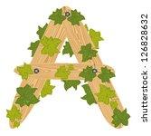illustration of the letter a...   Shutterstock .eps vector #126828632