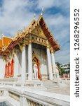 wat benchamabophit dusitvanaram ... | Shutterstock . vector #1268296552