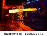 The Process Of Forging Metal In ...