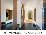 entrance hall of modern house | Shutterstock . vector #1268312815