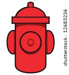 Vector Of Red Fire Hydrant