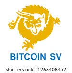 internet cryptocurrency.... | Shutterstock .eps vector #1268408452