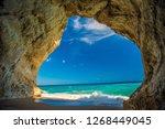 Cave On The Beach Of Cala Luna...