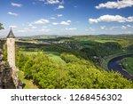 saxon switzerland landscape ... | Shutterstock . vector #1268456302