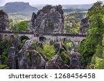 germany  saxon switzerland.... | Shutterstock . vector #1268456458
