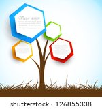 background with tree | Shutterstock .eps vector #126855338
