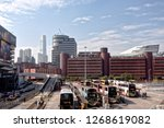 hung hom  kowloon  hong kong  ...   Shutterstock . vector #1268619082