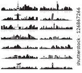 Vector Illustration Of Skyline...