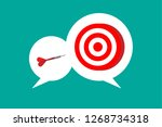 business planing concept   Shutterstock .eps vector #1268734318