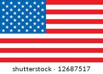 illustrated united states map... | Shutterstock .eps vector #12687517