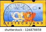 germany   circa 20031  a stamp... | Shutterstock . vector #126878858