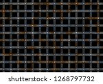 metal prison grate with nails... | Shutterstock . vector #1268797732