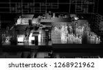 3d render complex abstract... | Shutterstock . vector #1268921962