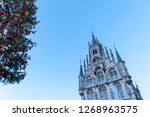town hall of gouda  the... | Shutterstock . vector #1268963575