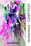 modern design.abstract oil... | Shutterstock .eps vector #1268979232