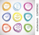 design elements set | Shutterstock .eps vector #126900362