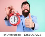 businessman finished on time.... | Shutterstock . vector #1269007228