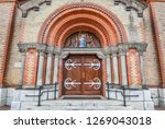 nyiregyh za  hungary   may 26 ... | Shutterstock . vector #1269043018