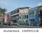 mindelo  cape verde   october... | Shutterstock . vector #1269051118