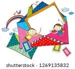 envelopes for children   Shutterstock .eps vector #1269135832
