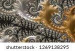 fractal a never ending pattern. ... | Shutterstock . vector #1269138295