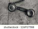 Vintage Telephone Handset On...