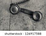 Vintage Telephone Handset On...