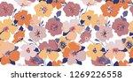 Vintage Floral Pattern....
