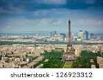 aerial view from montparnasse...