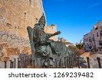 papa luna pope memorial... | Shutterstock . vector #1269239482