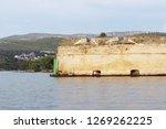 a naval fortification overlooks ...   Shutterstock . vector #1269262225