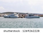 motor yachts moored in the...   Shutterstock . vector #1269262228