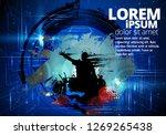 big music event. background...   Shutterstock .eps vector #1269265438