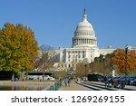 washington dc  usa   nov 24 ... | Shutterstock . vector #1269269155