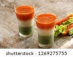 tricolor juice   indian... | Shutterstock . vector #1269275755
