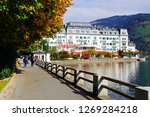 zell am see  austria   may 20 ...   Shutterstock . vector #1269284218