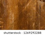 rusted steel as texture and... | Shutterstock . vector #1269292288