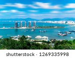 sanya phoenix island scenery | Shutterstock . vector #1269335998