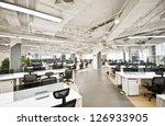 office work place | Shutterstock . vector #126933905