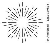 sunburst ornament   element...   Shutterstock .eps vector #1269339595