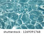 blue water texture in a... | Shutterstock . vector #1269391768