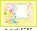 card for baby. | Shutterstock .eps vector #12694279