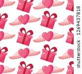 valentine day card   Shutterstock .eps vector #1269437818